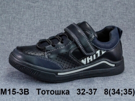 Тотошка Туфли спортивные M15-3B 32-37