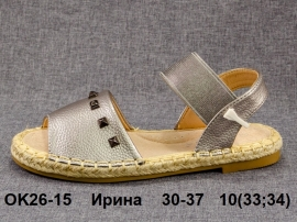 Ирина Томсы, эспадрилии OK26-15 30-37