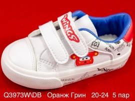 Оранж Грин Слипоны Q3973W\DB 20-24