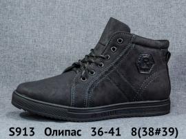 Олипас Ботинки зимние S913 36-41