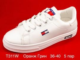 Оранж Грин Слипоны T311W  36-40
