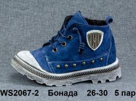 Бонада Ботинки демисезонные WS2067-2 26-30