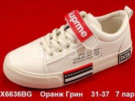 Оранж Грин Слипоны X6636BG 31-37