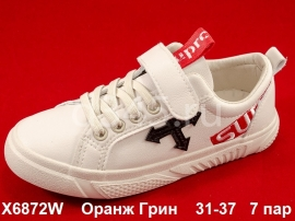 Оранж Грин Слипоны X6872W 31-37