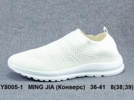 MING JIA (Конверс) Кроссовки летние Y8005-1 36-41
