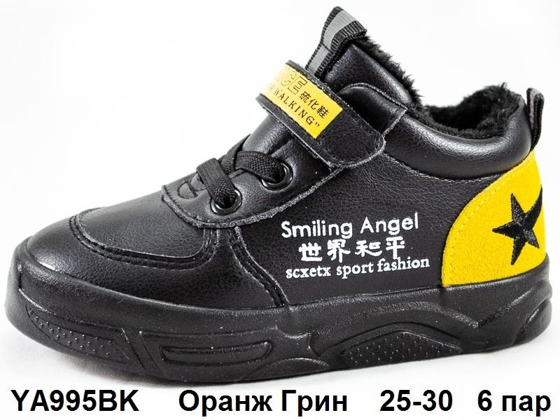 Оранж Грин Ботинки демисезонные YA995BK  25-30